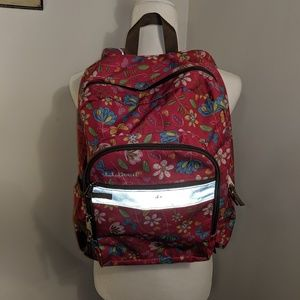 L.L. Bean Floral Backpack